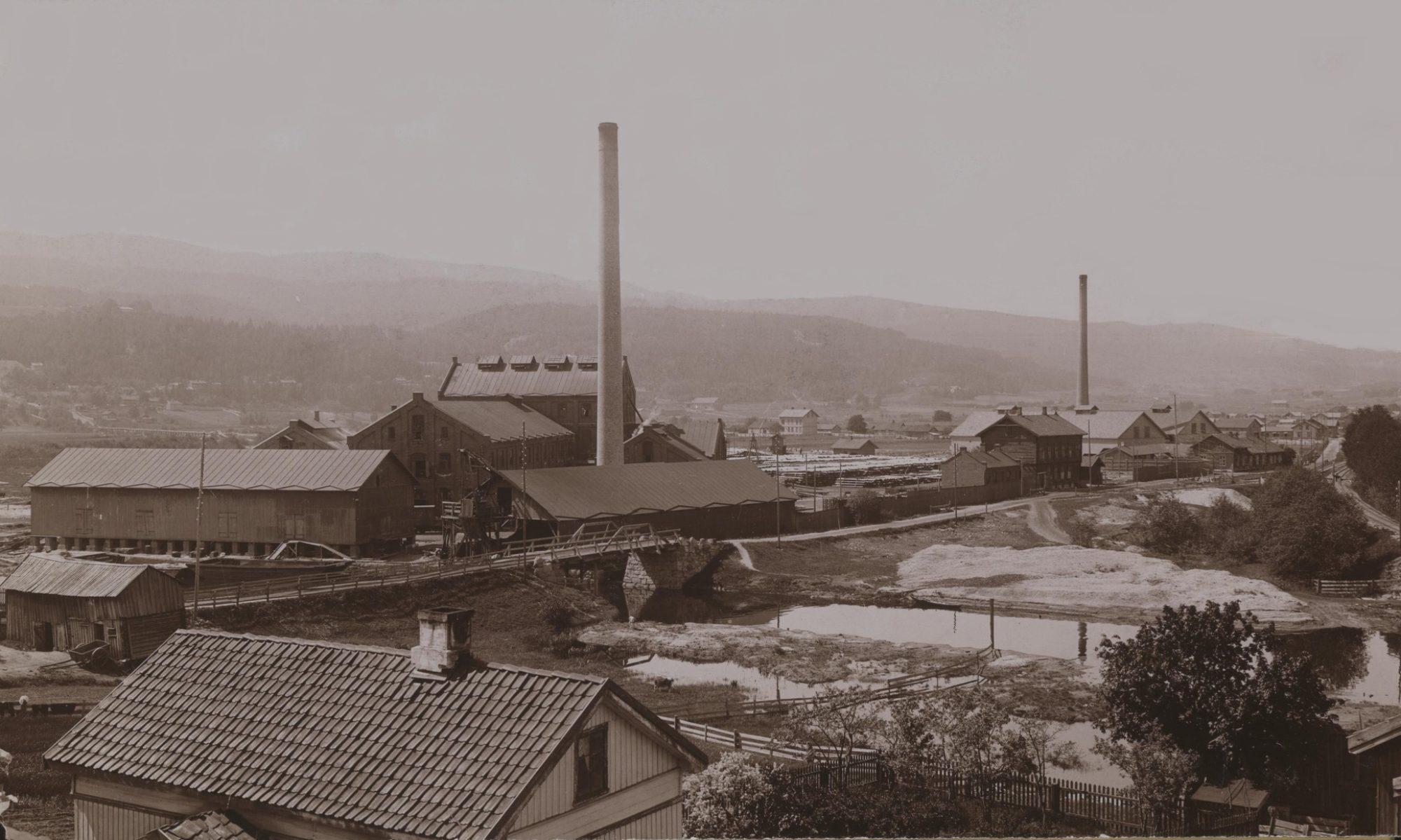 Bosteder i Mjøndalen